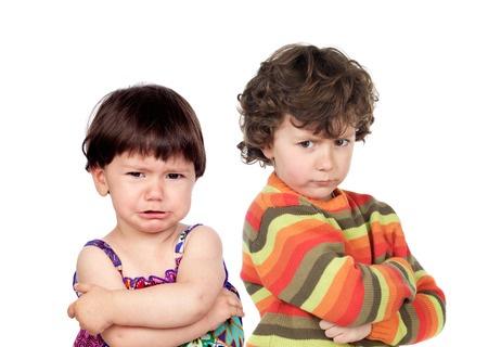 Nenes enfadados